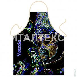 """Прикольный фартук для кухни 57х75 """"ITATI"""" Артикул: Венецианская маска"""