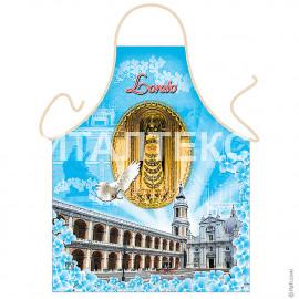 "Прикольный фартук для кухни 57х75 ""ITATI"" Артикул: Базилика Санта-Каза"