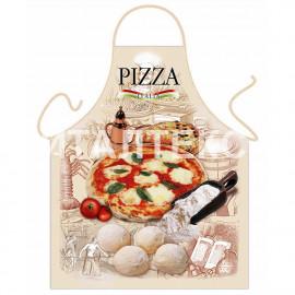 """Прикольный фартук для кухни 57х75 """"GRAND TEXTIL"""" Артикул: Пицца"""