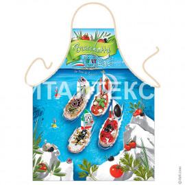 "Прикольный фартук для кухни 57х75 ""ITATI"" Артикул: Бутерброды"