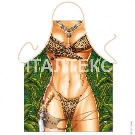 "Прикольный фартук для женщины 57х75 ""ITATI"" Артикул: Амазонка"