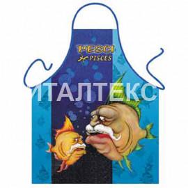 """Прикольный фартук для кухни 57х75 """"ITATI"""" Артикул: Знак зодиака: Рыбы"""