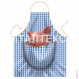 "Прикольный фартук для кухни 57х75 ""ITATI"" Артикул: Хрюша"