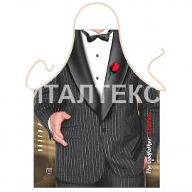 """Прикольный фартук для мужчины 57х75 """"GRAND TEXTIL"""" Артикул: Крестный отец"""