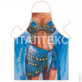 "Прикольный фартук для женщины 57х75 ""GRAND TEXTIL"" Артикул: Танец живота"
