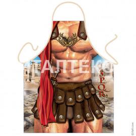 """Прикольный фартук для мужчины 57х75 """"GRAND TEXTIL"""" Артикул: Воин Рима"""