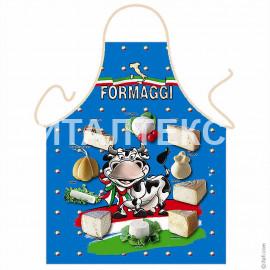 """Детский фартук для кухни 57х75 """"ITATI"""" Артикул: Корова с сыром"""