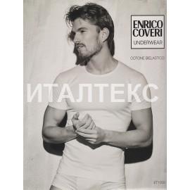 """Футболка мужская с круглым вырезом """"ENRICO COVERI"""" Артикул: 1000"""