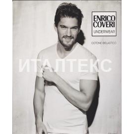 "Футболка мужская с V-образным вырезом ""ENRICO COVERI"" Артикул: 1001"