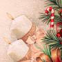 """Декоративная новогодняя гобеленовая салфетка с люрексом 40х100 """"VINGI RICAMI"""" Артикул: Шарлотте"""