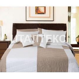 """Элитное одеяло-покрывало на кровать 270х270 + 2 подушки """"TIMAS"""" Артикул: Леонель"""