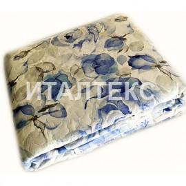 """Тонкое одеяло-покрывало 255х255 на двуспальную кровать """"SERVALLI"""" Артикул: Розе Лиф"""