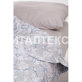 "Тонкое одеяло-покрывало 255х255 с волнистыми краями ""SERVALLI"" Артикул: Санремо"