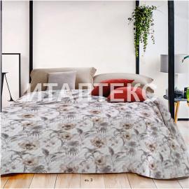 """Тонкое одеяло-покрывало 240х250 на двуспальную кровать """"SERVALLI"""" Артикул: Бали"""