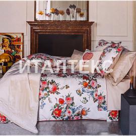"""Элитноее одеяло-покрывало на кровать 260х270 """"LA PERLA"""" Артикул: Букет"""