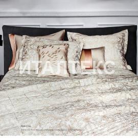 """Элитное одеяло-покрывало на кровать 260х270 """"LA PERLA"""" Артикул: Люмиер"""