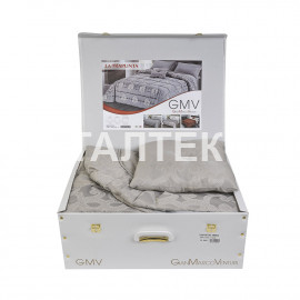 """Одеяло-покрывало 260х270 + 2 декоративные подушки """"ASCOLESE"""" Артикул: Амбра"""