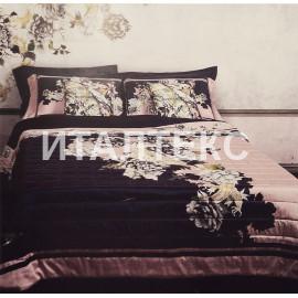 """Элитное одеяло-покрывало на кровать 265х270 """"ROCCOBAROCCO"""" Артикул: Грэйс"""