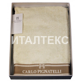 "Набор из двух махровых полотенец ""CARLO PIGNATELLI"" Артикул: Неттуно"