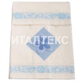 """Набор из двух махровых полотенец """"ALMATEX"""" Артикул: Джирасоле (пакет)"""