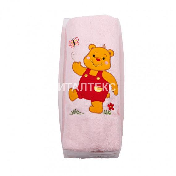 """Детские махровые полотенца в наборе 2 штуки """"MELANGIO"""" Артикул: Дисней (Винни Пух)"""