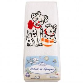 """Детские махровые полотенца в наборе 2 штуки """"MELANGIO"""" Артикул: Дисней (Далматинец)"""