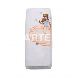 """Детские махровые полотенца в наборе 2 штуки """"MELANGIO"""" Артикул: Дисней (Принцесса)"""