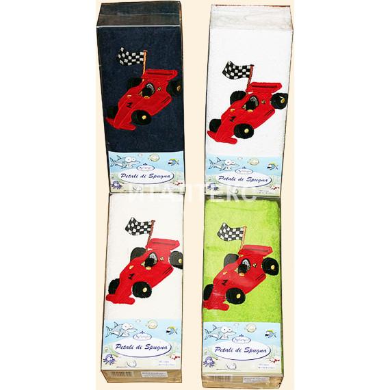 """Детские махровые полотенца в наборе 2 штуки """"MELANGIO"""" Артикул: Дисней (Ралли)"""