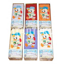 """Детские махровые полотенца в наборе 2 штуки """"MELANGIO"""" Артикул: Дисней (Утёнок)"""