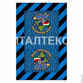 """Тонкое сувенирное пляжное полотенце 60х90 """"ITATI"""" Артикул: Интер"""