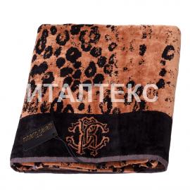 """Набор из двух махровых полотенец в пакете """"ROBERTO CAVALLI"""" Артикул: Джагуаро"""