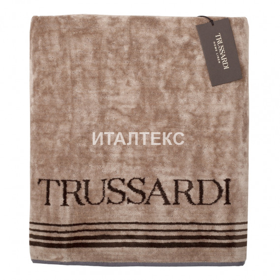 """Банное махровое полотенце 95х150 """"TRUSSARDI"""" Артикул: Фрэйм"""