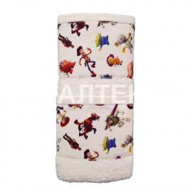 """Детские махровые полотенца в наборе 2 штуки """"HELEN"""" Артикул: Бэби 4 (история игрушек)"""
