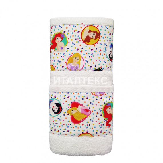 """Детские махровые полотенца в наборе 2 штуки """"HELEN"""" Артикул: Бэби 8 (принцесса)"""