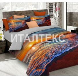 """Элитное постельное белье 3D евро """"MATTEO BOSIO"""" Артикул: SeC 12"""