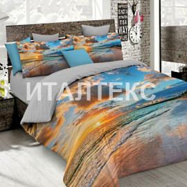 """Элитное постельное белье 3D евро """"MATTEO BOSIO"""" Артикул: SeC 13"""