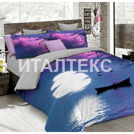 """Элитное постельное белье 3D евро """"MATTEO BOSIO"""" Артикул: SeC 17"""