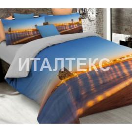 """Элитное постельное белье 3D евро """"MATTEO BOSIO"""" Артикул: SeC 21"""