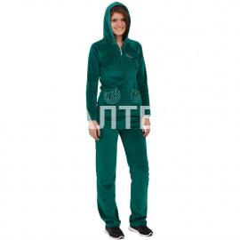 """Велюровый женский костюм с капюшоном """"FERRUCCI"""" Артикул: Элеонора"""