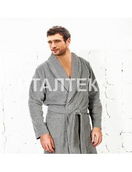 """Утепленный мужской домашний халат """"FERRUCCI"""" Артикул: Мессико"""