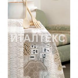 "Скатерть с салфетками на круглый стол ""DI MILANO"" Артикул: Селтик (диаметр 180)"