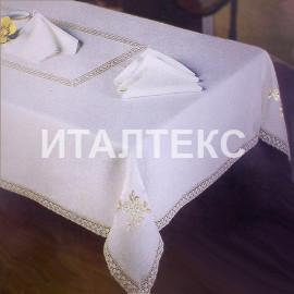 "Скатерть с салфетками 160х260 ""CONFESTYL"" Артикул: Ивана (цветок)"