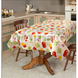 """Скатерть на стол 140х180 """"VALLEPIANO"""" Артикул: Диннер (овощи)"""