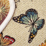 """Гобеленовая салфетка 40х110 """"EUROGAL"""" Артикул: Гобелен (бабочки)"""