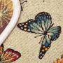 """Гобеленовая салфетка 40х150 """"EUROGAL"""" Артикул: Гобелен (бабочки)"""