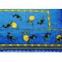 """Скатерть с салфетками 140х240 """"MELANGIO"""" Артикул: Оливе (лимоны на синем)"""