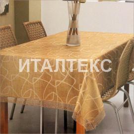 """Скатерть на квадратный стол 160х160 """"CONFESTYL"""" Артикул: Брема"""