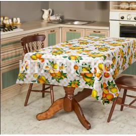 """Скатерть на стол 140х180 """"VALLEPIANO"""" Артикул: Диннер (апельсины)"""