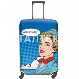 "Чехол на чемодан ""ITATI"" Артикул: Стюардесса"
