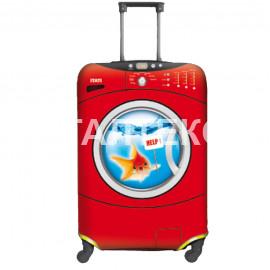 "Чехол на чемодан ""ITATI"" Артикул: Рыбка"